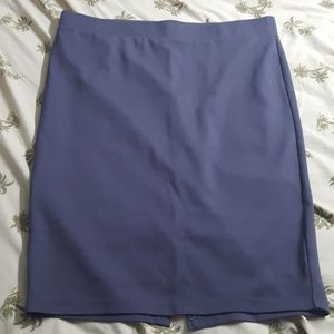 Torrid Pointe gray pencil skirt size 2